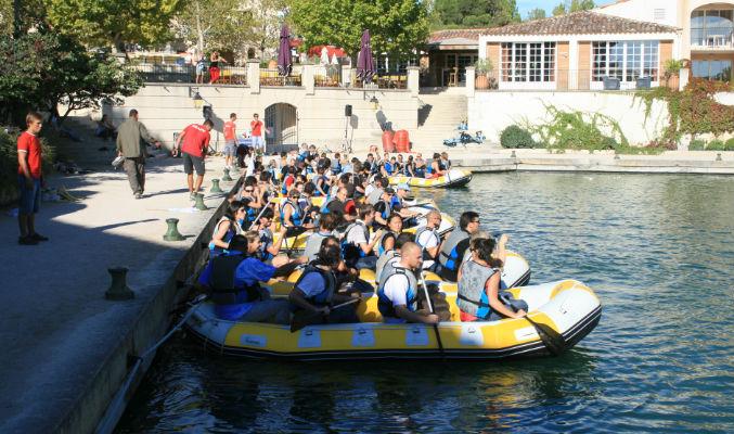 Team building sportif bateau