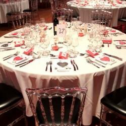 Salle de réception dîner de gala Bandol