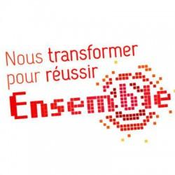 Logo voeux entreprise banque