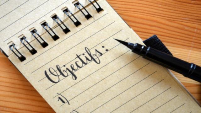 Liste d'objectifs séminaire