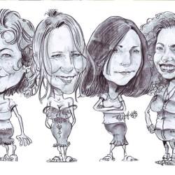 Animation caricaturiste Puteaux