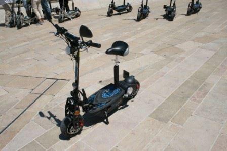 Vélos électriques pour rallye team building