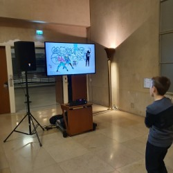 Animations jeux vidéos journée des vœux Boulogne-Billancourt
